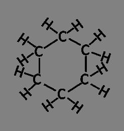 נוסח ייצוג מבנה מפורטת של נוסח ייצוג מבנה מפורטת של ציקלוהקסאן
